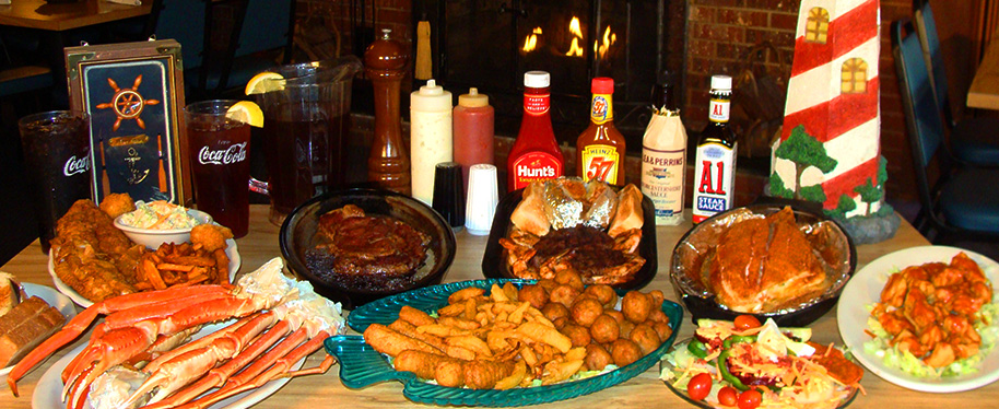 select only the best seafood and top quality steaks, and serve it all up with good ole' southern hospitality
